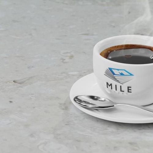 AGLOMARMUR PERLANO ROYAL - filiżanka kawy